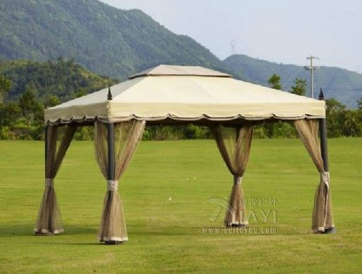 3x3.6 meter deluxe aluminum patio gazebo tent garden shade pavilion roof furniture house rain protection with gauze *** Read more @ http://performance.affiliaxe.com/aff_c?offer_id=11422&aff_id=86258&source=http://www.aliexpress.com/item/3x3-6m-Deluxe-Alum-Roma-Gazebo/1862539048.html&alv=150716232845