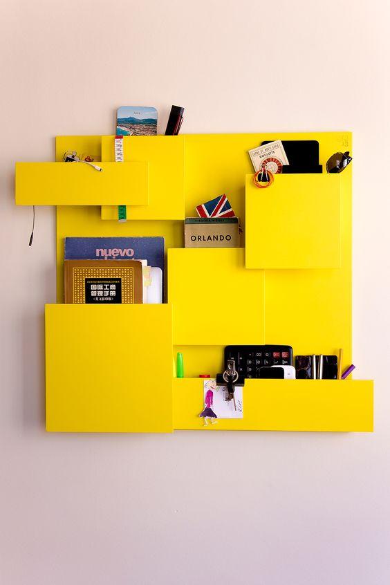 LUIS ORGANIZER yellow