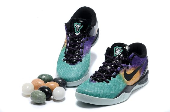 check out e4b81 c9f4d Wholesale Cheap Nike Kobe 8 System Elite Superhero 586590 300 with Chalcedony  Pendant   Volt Lace   1 2 off Nikes   Pinterest   Kobe bryant shoes, ...