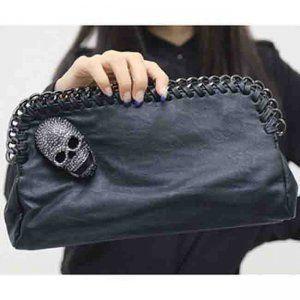 handbag with skull