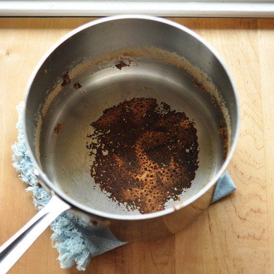 How To Clean Tough Burnt Stains Off Stainless Cookware