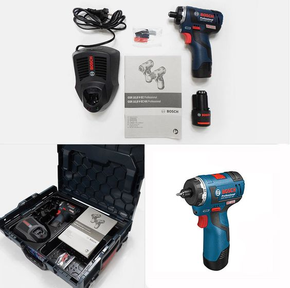 BOSCH GSR10.8V-EC HX 10.8V 2.0Ah Cordless Drive Drill Full Set #BOSCH#Bosch #cordless #drill #drive #powertool #fullset #gsr10.8vec