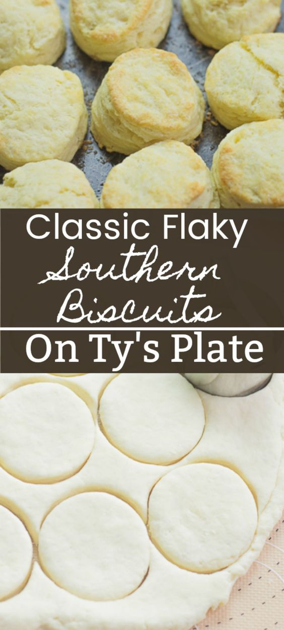 Classic Flaky Southern Biscuits