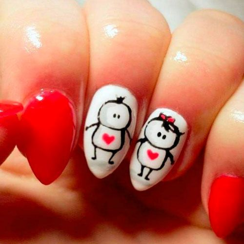 75 Best Valentine S Day Nail Designs You Will Love 2020 Update Valentine S Day Nail Designs Heart Nail Designs Nail Designs Valentines