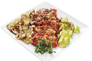 Zucchini y berenjena a la plancha | Sabores en Linea