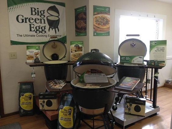 Archadeck of West Central and SW Ohio Big Green Egg showroom