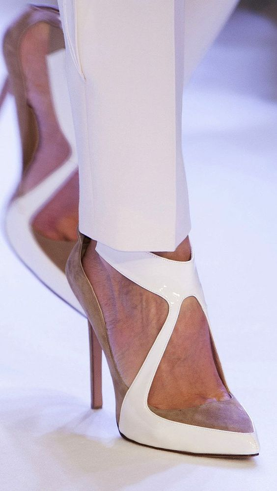 Couture Spring - -- 35 High Fashion Heels On The Street - Style Estate -  Via