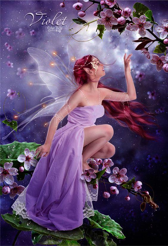 Violet Fairy / Faery: