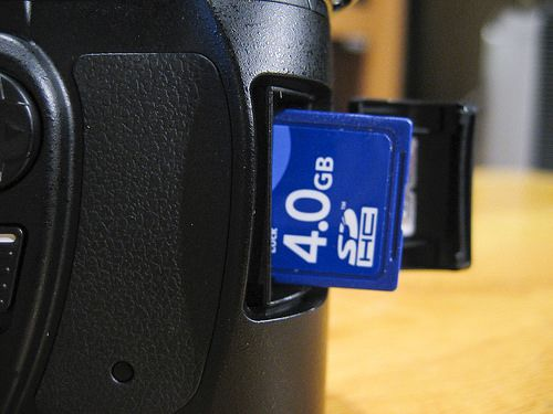 Keeping your memory cards healthy