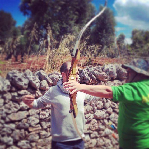 Arcieri in azione a Ceglie Messapica #discoveringpuglia Photo by cenzointermite