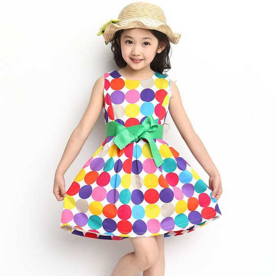 Aliexpress.com : Buy Casual Dress For Little Girls 2014 Child ...