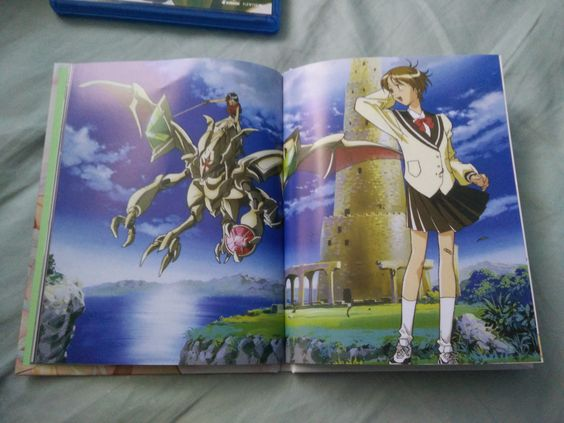 Escaflowne Collector's Edition Inside Artbook