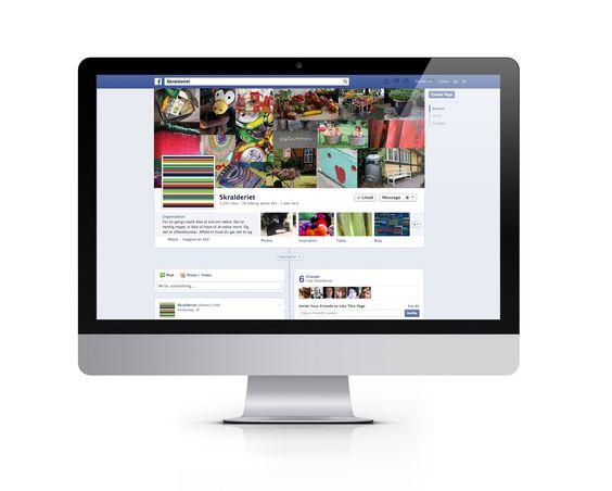 Timeline und eine Bild-Collage auf Facebook, die zeigen, dass aus Müll etwas werden kann, was brauchbar ist.