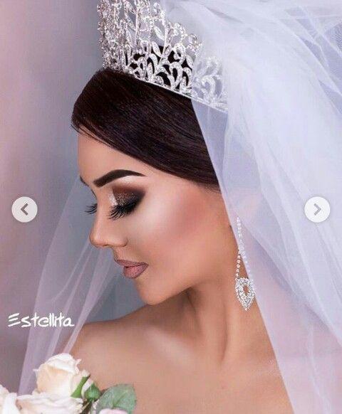 Pin By Aystar On Gelin Sac Makyaj Bridal Hair Wedding Hairstyles Beauty Inspiration
