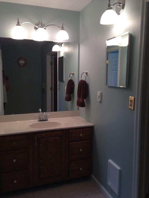 Copen Blue Sherwin Williams Kitchen Color New House Pinterest Kitchen Colors Bathroom