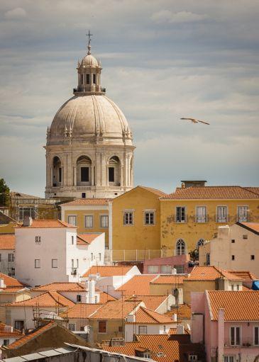 Panteão Nacional Dome (by João Maia) Lisboa, Lisbon By LightTravelers Team, Portugal