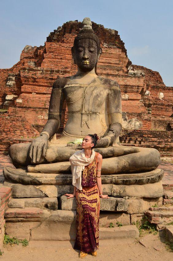 Wat Phra Mahathat, Ayutthaya, Tailandia