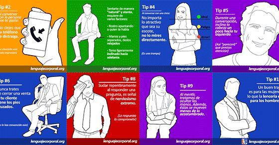 Galería de Tips (1 al 10) - Página 4 de 4 - Lenguaje Corporal