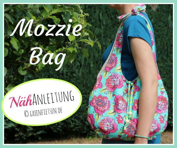 Mozzie Bag - Nähanleitung / Free Tutorial für eine lässige Sommertasche