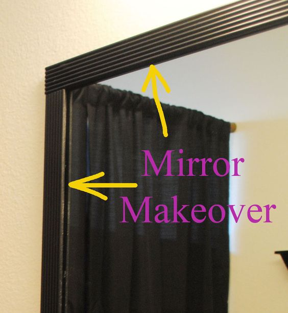 One Day at a Time: Revamped Bathroom: Project #1 - Mirror Makeover
