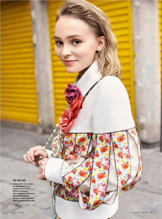 Lily Rose-Depp for Vanity Fair France