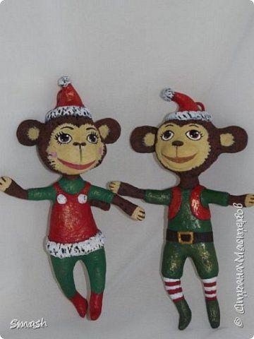 Папье маше поделки новогодние игрушки
