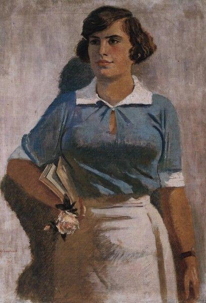 А.Н. СамоÑвалов. «Вузовка». 1936.