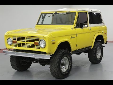 1970 Ford Bronco For Sale By Worldwide Vintage Autos In Denver