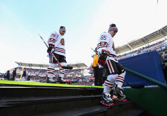 Ben Smith and Andrew Shaw #WinterClassic2015