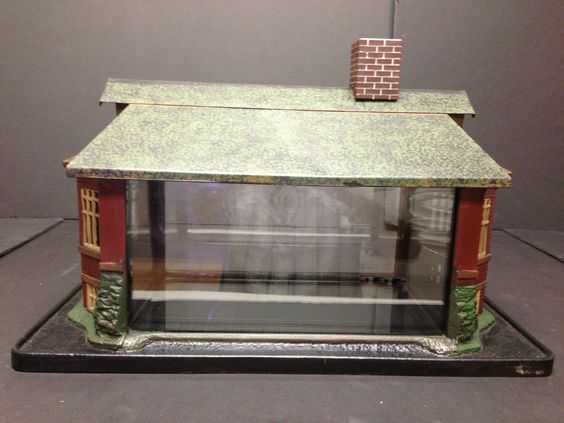 Antique Aquarium Jewel Bungalow Deco House Fish Tank Very Cool | eBay