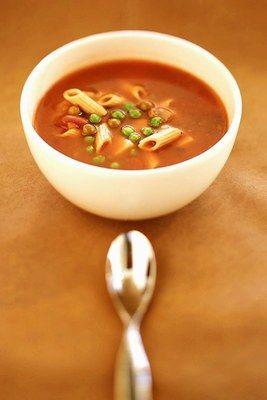 Rezept: italienische Tomatensuppe - Suppen: Suppenrezepte