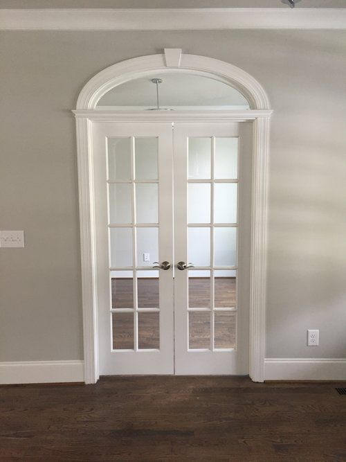 Arched French Door Transom For Office Ez Arch Style Modified