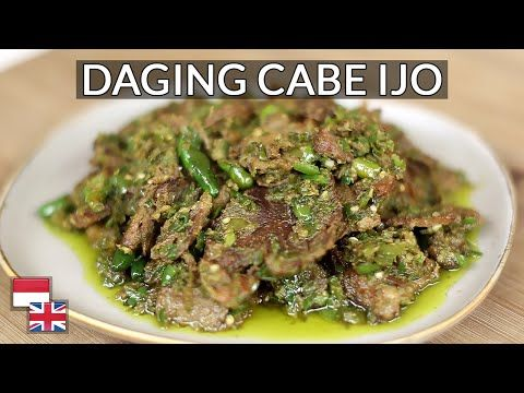 Empuk Pedas Wangi Resep Daging Cabai Hijau Kualitas Restoran Youtube In 2021 Food Pedas Beef