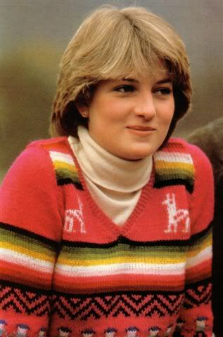 Lady Diana engaged at Balmoral.  Was the real-life princess we grew up reading about.  I loved the young Shy Di.