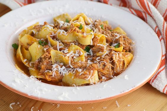 Ragu recipe, Pork and Sunday suppers on Pinterest