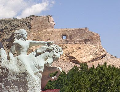 Crazy Horse We actually only glimpsed this from the road... but it still counts, right?http://dreamanddiffer.blogspot.com/
