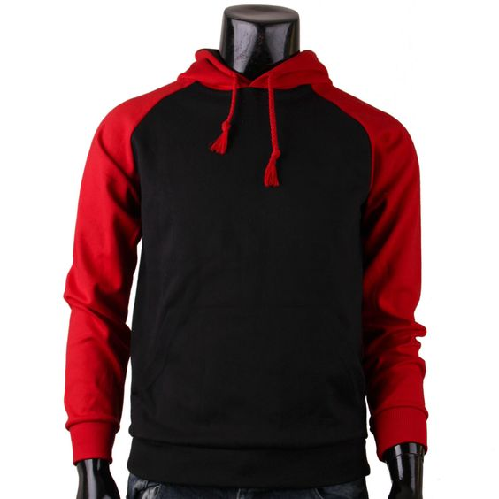 Images of Black And Red Hoodie - Reikian