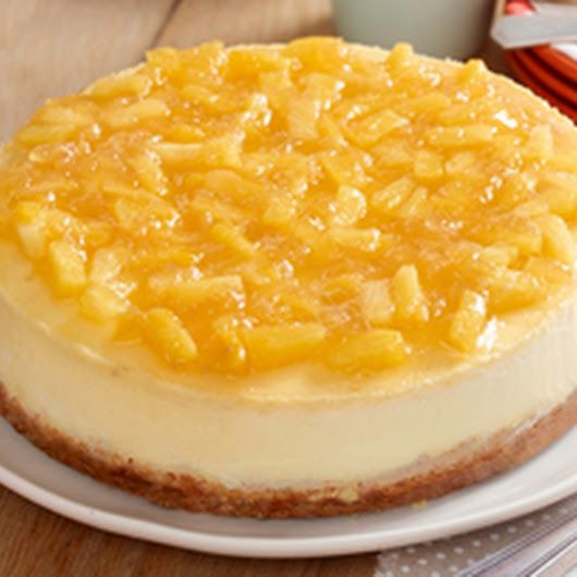 Pineapple Topped New York Cheesecake Recipe Recipe Cheesecake Recipes Desserts Kraft Recipes
