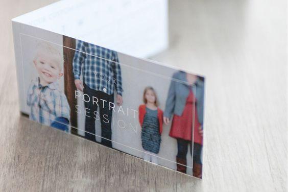 Portrait Welcome Packet: Modern Minimalist Edition