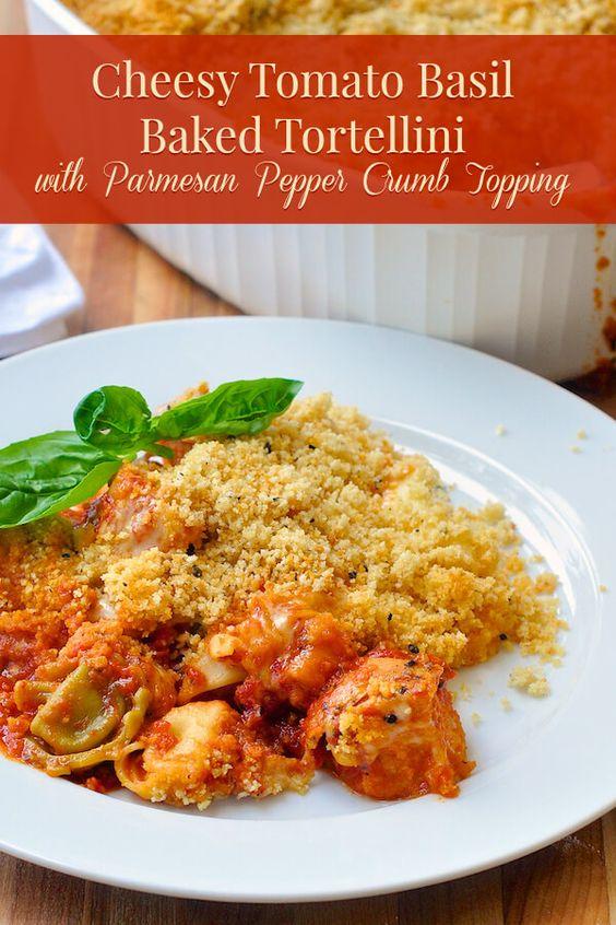 Tortellini, Tomato basil and Basil on Pinterest