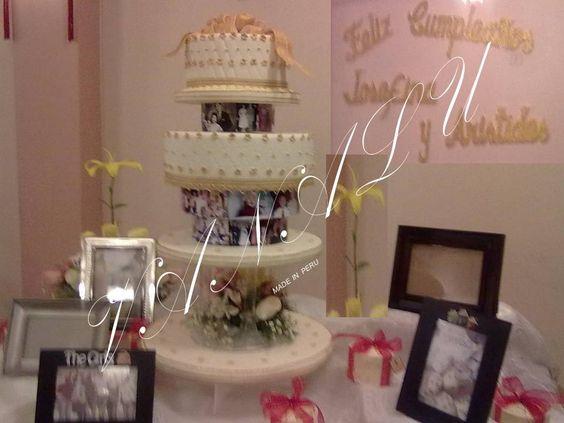 pasteles para bodas de oro | Torta Bodas De Oro
