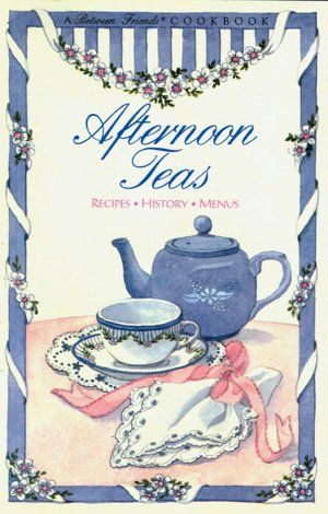 A between friends cook book .. Always good to have tea and a chat with friends !