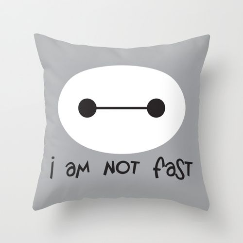 Big Hero 6, I am not fast - this would be awesome on a shirt for race day :):
