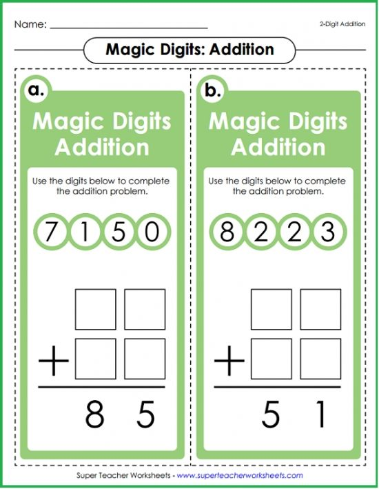 Your Students Will Love Magic Digits Math Games Available For Addition Subtraction Multiplica Super Teacher Worksheets Teacher Worksheets Math Super Teacher