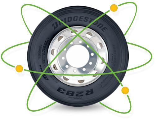Las llantas para camión EcopiaMR llevan consigo una amplia gama de nuevas tecnologías e innovaciones. Desde el diseño revolucionario de baja resistencia al rodado hasta los compuestos para banda de rodamiento avanzados. Las nuevas llantas de Ecopia y los renovados FuelTech imponen nuevos estándares de desempeño ecológico.