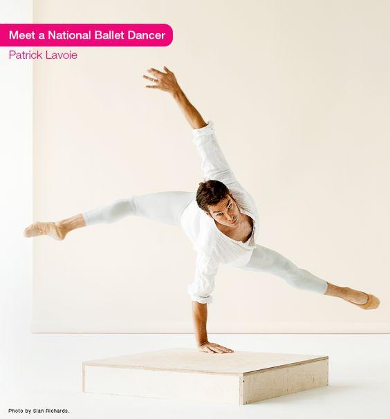 Patrick Lavoie was born in Montréal, Québec. He trained at L'École supérieure de ballet contemporain de Montréal and San Francisco Ballet School. He joined The National Ballet of Canada in 1997