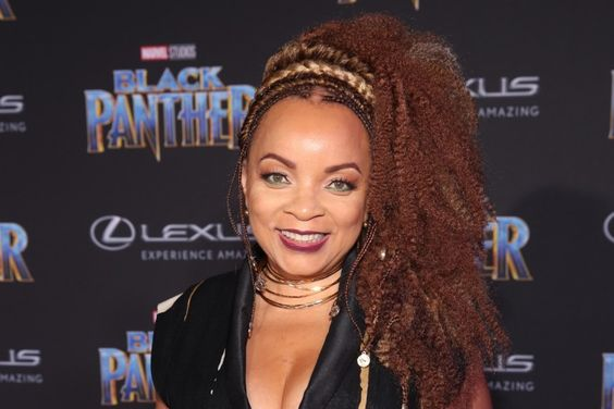 Ruth Carter at Black Panther premiere.