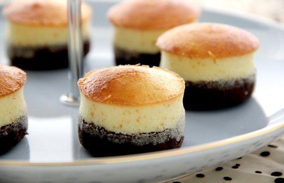 Butter Cake Recipe Japanese: Mini Brownie Butter Cake
