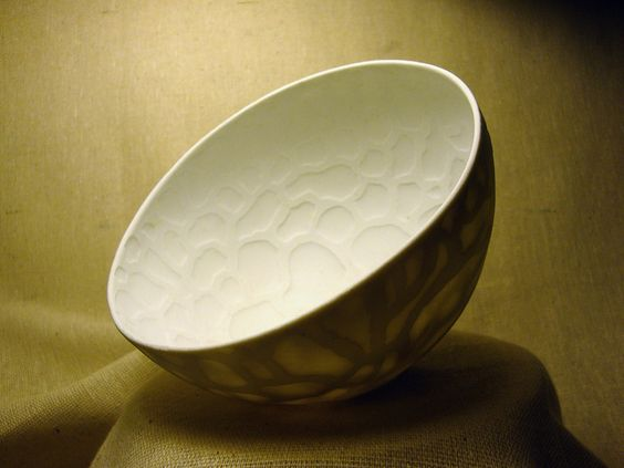 Olia Lamar - naked porcelain bowl: