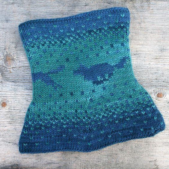 Double Knit Pattern : Yuma Double Knitting Cowl pattern by Alexandra Wiedmayer Double knitting, C...